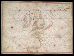 Portolan Chart of the British Isles(001ROY000014C05U00000000)